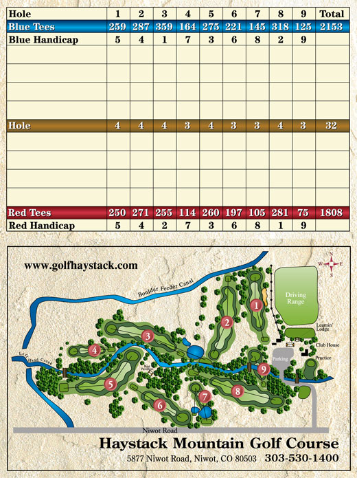 Niwot Colorado Map.Welcome To Haystack Mountain Golf Course In Niwot Co
